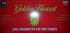 Golden Harvest Full Flavor 100mm tubes