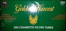 Golden Harvest Menthol 100mm tubes