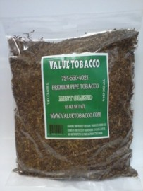 Value Tobacco Pipe Tobacco Mint Blend (Menthol) 1 lb.