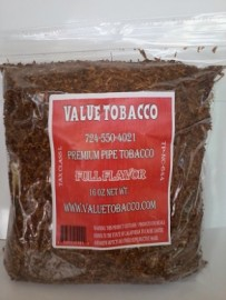 Value Tobacco Pipe Tobacco Original Blend (Full Flavor) 1 lb.